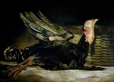 Grouse Painting - Still Life by Goya