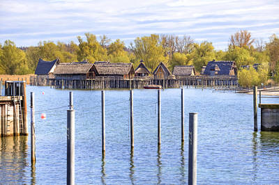 Lake Constance Photograph - stilts Unteruhldingen by Joana Kruse
