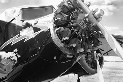 Tri-motor Photograph - Stinson Tri-motor 1931 by Maxwell Amaro