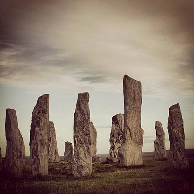 Landscapes Wall Art - Photograph - Stone Circle by Luisa Azzolini
