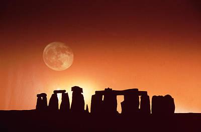 Stonehenge, England Art Print by John Foxx