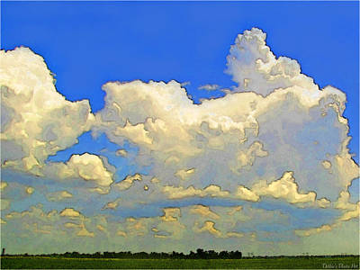 Photograph - Storm Clouds Rising  Art by Debbie Portwood