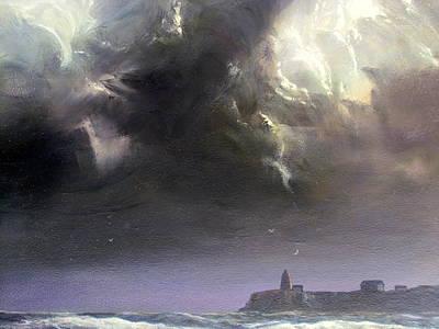 Painting - Stormy Sea by Milan Melicharek