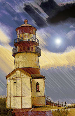 Digital Art - Stormy Skies by Steve Warnstaff