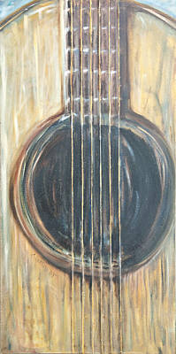 Painting - Strings by Chuck Gebhardt