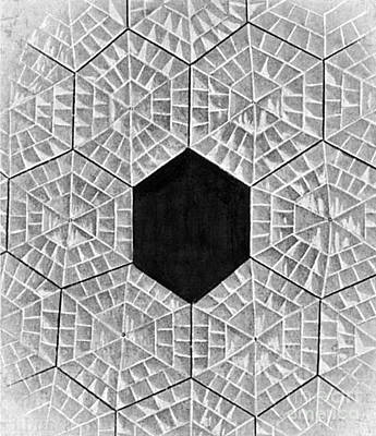 Photograph - Structure Of Hailstone by Science Source