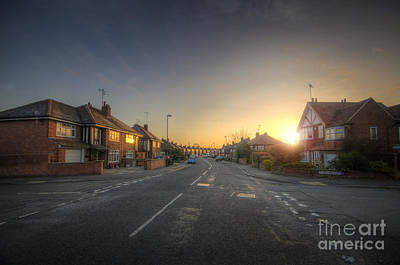 Photograph - Suburban Sunrise 8.0 by Yhun Suarez