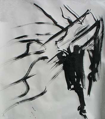 Painting - Sumi 4 by Elizabeth Parashis