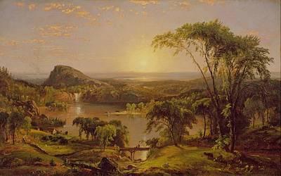 Summer Lake Ontario Art Print by Jasper Francis Cropsey