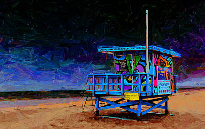 So Cal Digital Art - Summer Of Color by Ron Regalado