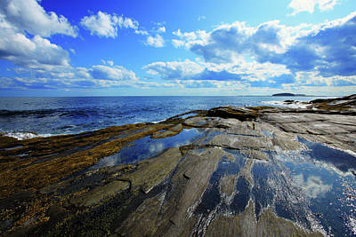 Maine Seascapes Photograph - Summer Sky by Rick Berk