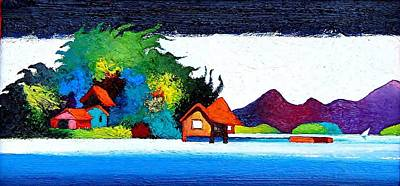 Painting - Summer Vacation by Rob M Harper