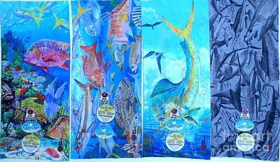 Swordfish Digital Art - Sun Guard  by Carey Chen