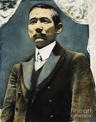 Photograph - Sun Yat-sen (1866-1925) by Granger