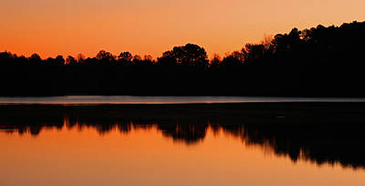 Photograph - Sunrise At Lake Brandt by Sheila Kay McIntyre