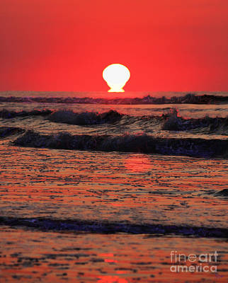 Photograph - Sunrise At Myrtle Beach by Jeff Breiman