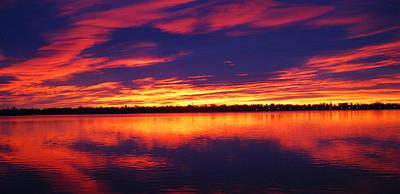 Sunrise Over Lake Loveland Art Print by Billie Colson