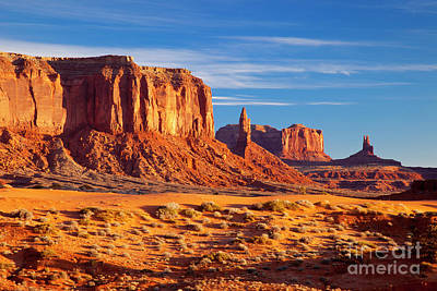 Photograph - Sunrise Over Monument Valley by Brian Jannsen