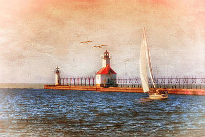 Art Print featuring the photograph Sunset Aglow by Mary Timman