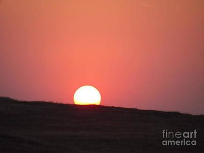 Babadag Photograph - Sunset At Babadag by Anca Gheorghiu