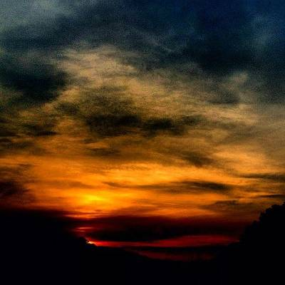 Sunset Wall Art - Photograph - Sunset by Katie Williams