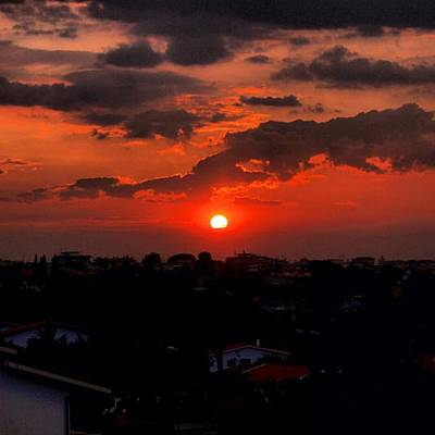 Sunset Wall Art - Photograph - Sunset by Luisa Azzolini