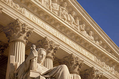 Photograph - Supreme Court by Brian Jannsen