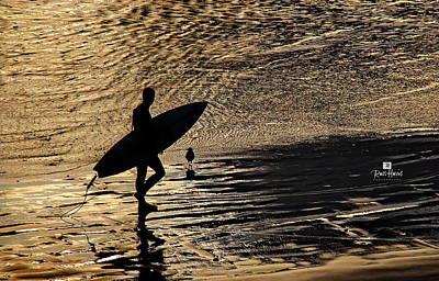 California Photograph - Surfer Bird by Russ Harris
