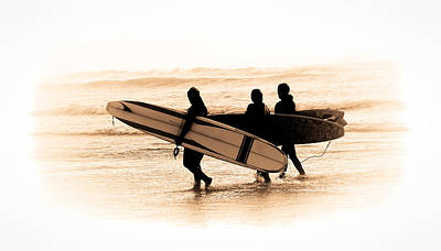 Photograph - Surfs Up by Steve McKinzie