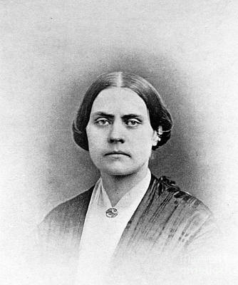 Abolition Photograph - Susan B. Anthony, American Civil Rights by Photo Researchers, Inc.