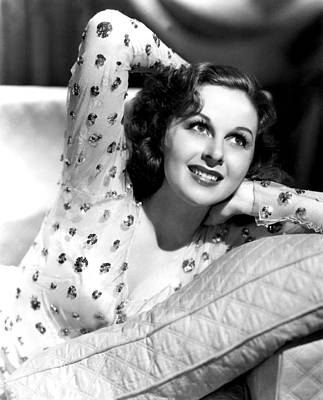 Hands Behind Head Photograph - Susan Hayward, Portrait by Everett