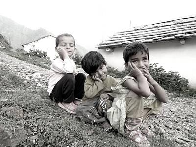 Photograph - Sweet Childhood by Hari Om Prakash