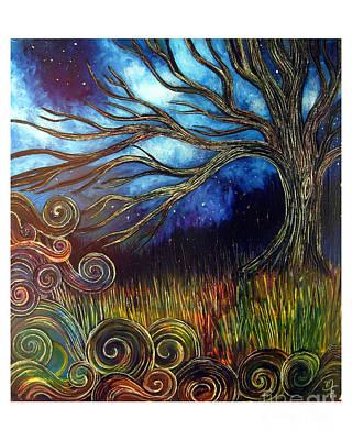 Sweet Night Art Print by Monica Furlow
