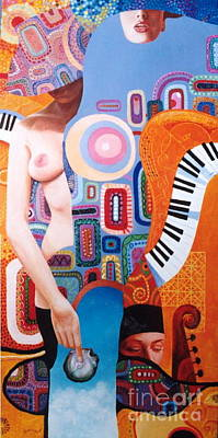 Painting - Symphony Fantastique by Igor Postash