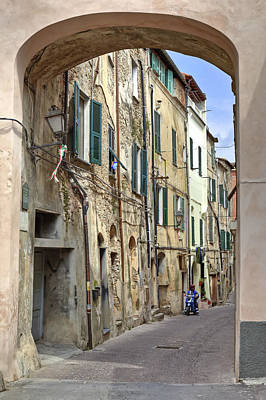 Crooked Photograph - Taggia In Liguria by Joana Kruse
