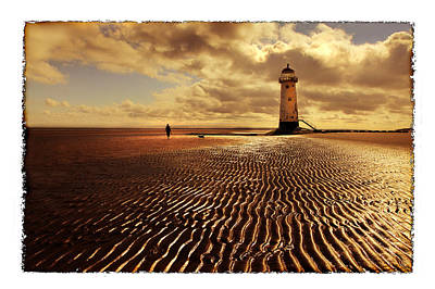 Wall Art - Photograph - Talacre Lighthouse by Mal Bray