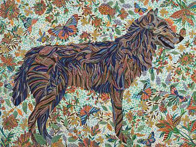 Tamed Print by Erika Pochybova