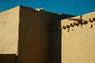 Taos Church I Art Print by Jim  Arnold
