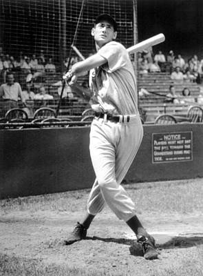 Ted Williams, 1941 Print by Everett