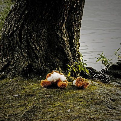 Headless Photograph - Teddy Without Head by Joana Kruse