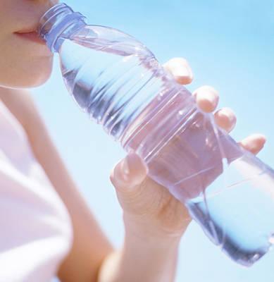 Teenage Girl Drinking Water Art Print by Cristina Pedrazzini