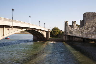 Telford Suspension Bridge Art Print