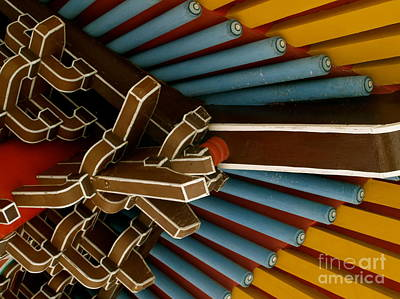 Photograph - Temple Ceiling by Michael Canning