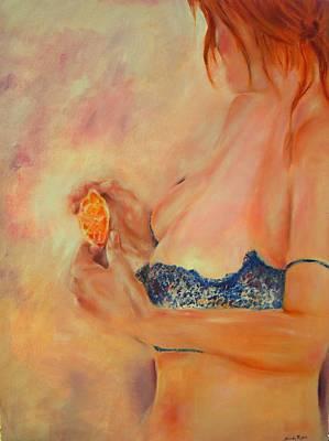Temptation Art Print by Sandy Ryan