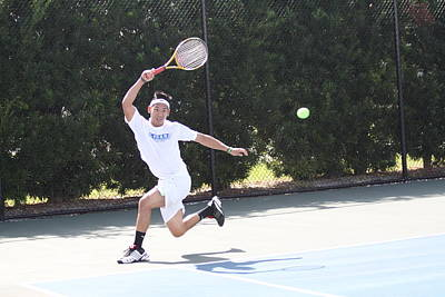 Photograph - Tennis Player by Jeanne Andrews