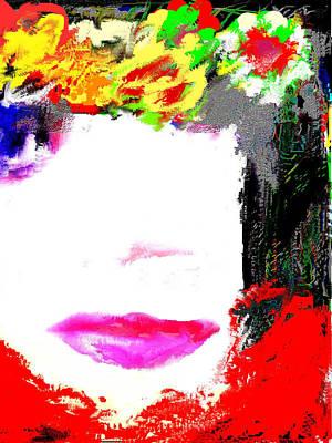 That Girl Art Print by Rc Rcd