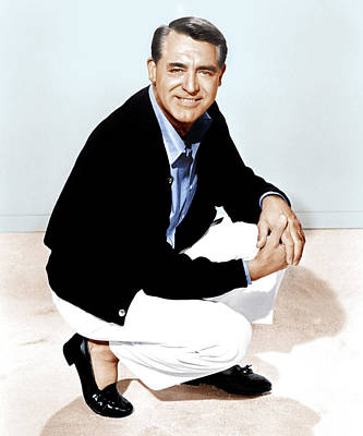 That Touch Of Mink, Cary Grant, 1962 Art Print by Everett