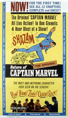 Postv Photograph - The Adventures Of Captain Marvel, Tom by Everett