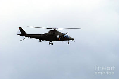Agustawestland Aw109 Photograph - The Agusta A-109 Helicopter by Luc De Jaeger