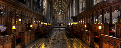 St Mary Photograph - The Altar by Adrian Evans